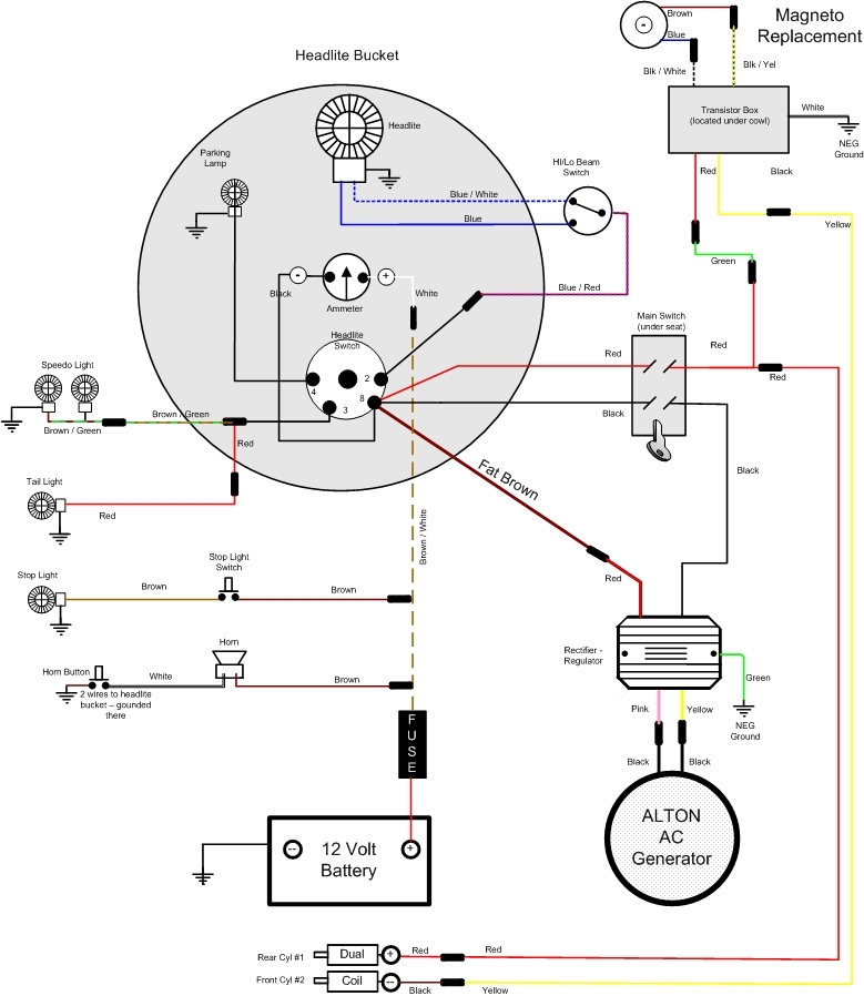 hella 500 wiring diagram vincent motorcycle electrics discussion of modern voltage regulators