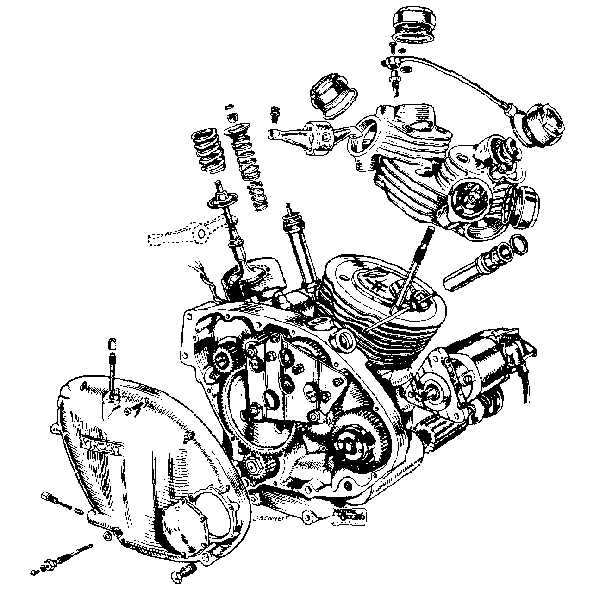 Vincent engine technical information click for larger image malvernweather Image collections